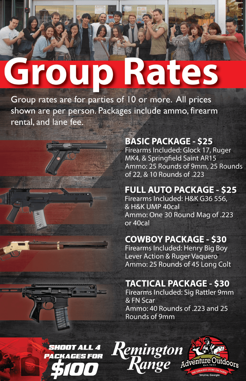 Range Group Rates