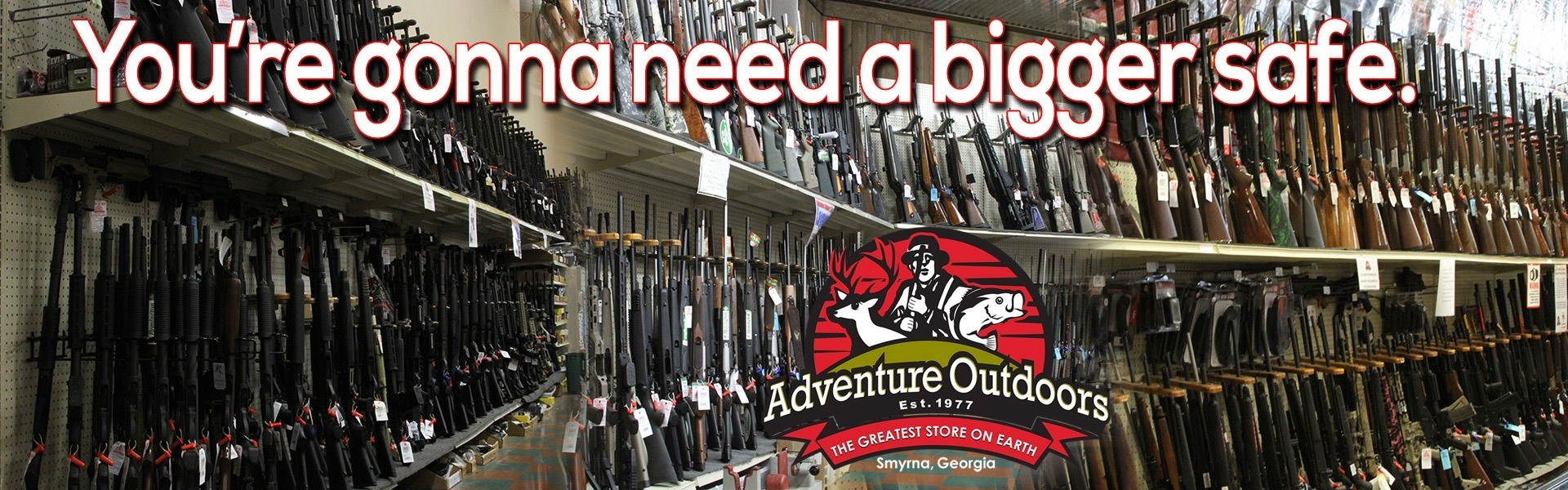 Adventure Outdoors | The World's Largest Gun Store